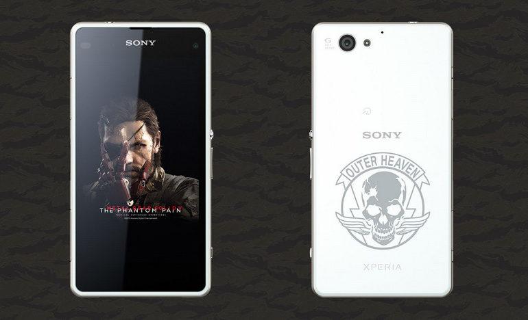 "Khusus Jepang, Sony Xperia J1 Compact Bertema ""Metal Gear Solid V: The Phantom Pain"" Dirilis"