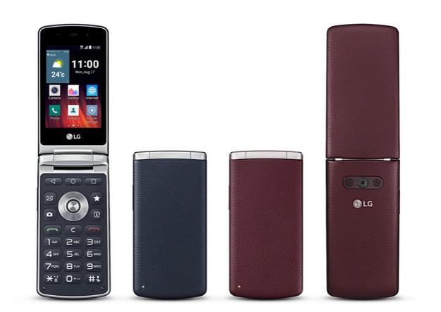 LG Wine Smart, Ponsel Android Flip Rebranding LG Gentle Untuk Pasar Internasional