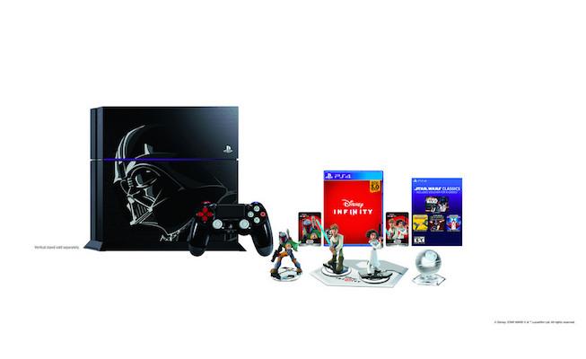 PlayStation 4 Edisi Terbatas Darth Vader Dengan Bundel Star Wars Battlefront Hadir November 1
