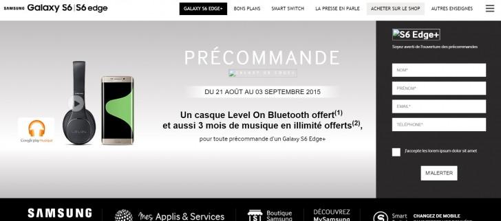 Pre-Order Samsung Galaxy S6 Edge Plus Akan Dibuka 21 Agustus