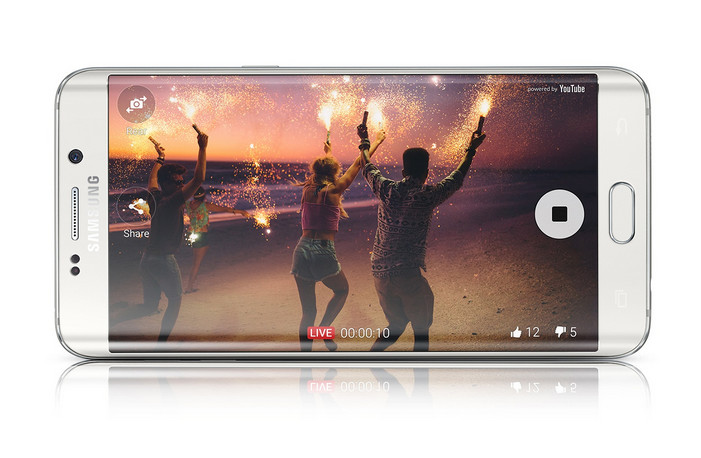 Samsung Galaxy S6 Edge+ Dirilis, Lebih Lebar Lebih Tipis
