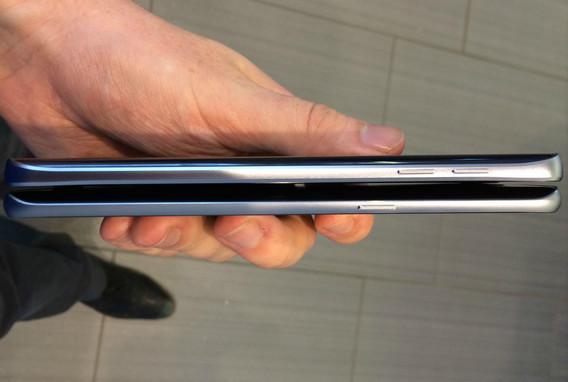Samsung Galaxy S6 Edge Plus dan Samsung Galaxy Note 5 Berpose Didepan Kamera