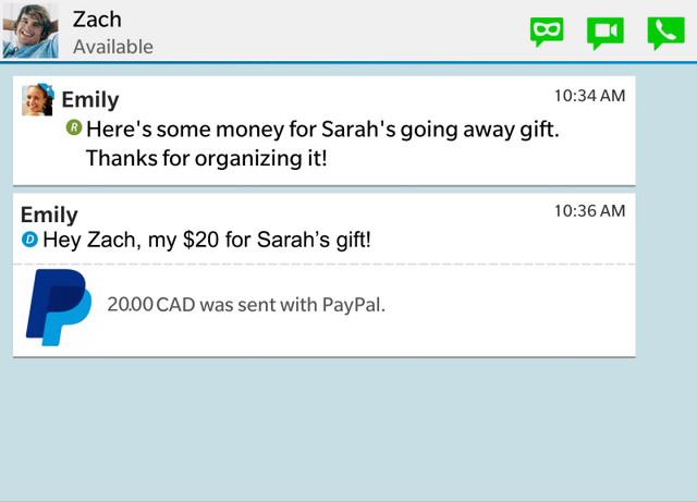 Diperbarui, BBM Versi Terbaru Kini Terintegrasi Dengan PayPal