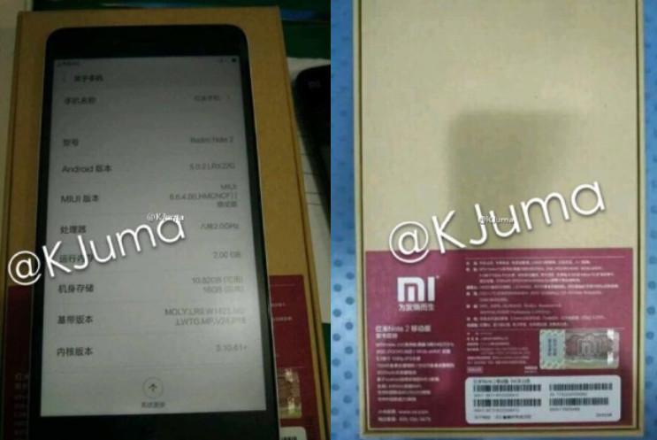 Wujud dan Harga Xiaomi Redmi Note 2 Terungkap