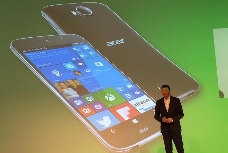 Acer Jade Primo Jadi Smartphone Pertama yang Mendukung Continuum Windows 10 Mobile