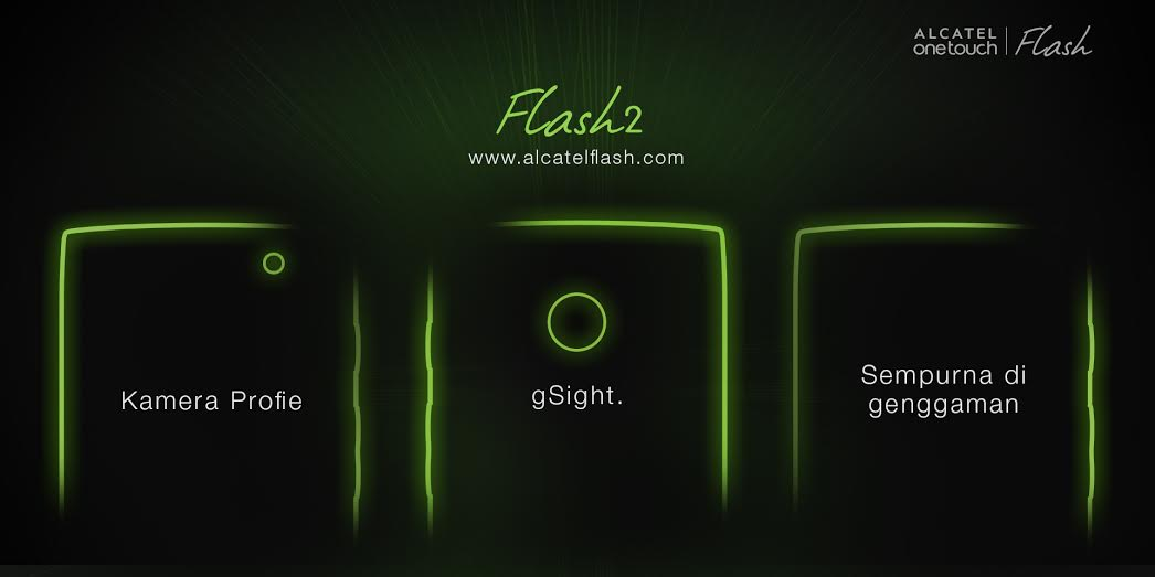 Alcatel Flash 2 Dibundel Aksesoris Misterius, Peluncurannya Disiarkan Live Streaming Besok 2