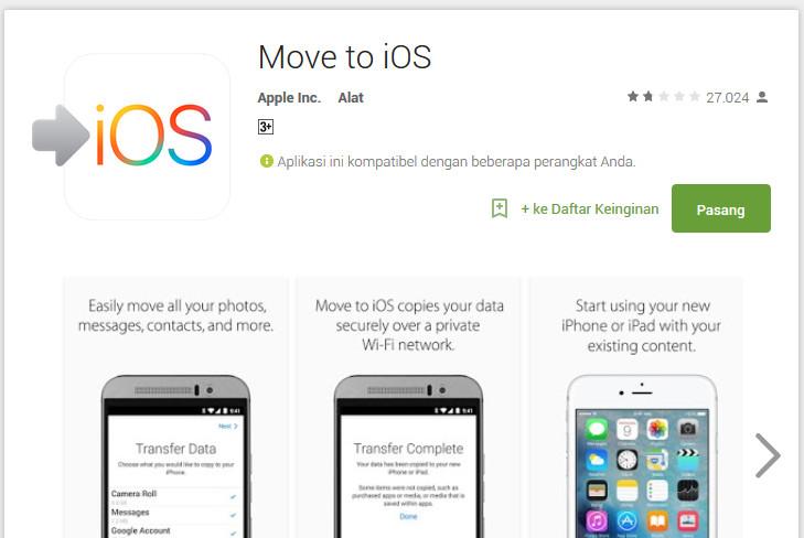 """Apple """"Mancing"""" di Kolam Android"""