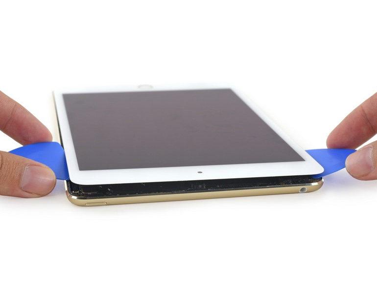 Bedah iPad Mini 4 Perlihatkan Organ Dalamnya