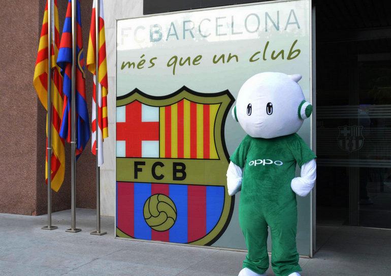 Bermitra Dengan Barca, Oppo R7 Plus Punya Edisi Barcelona