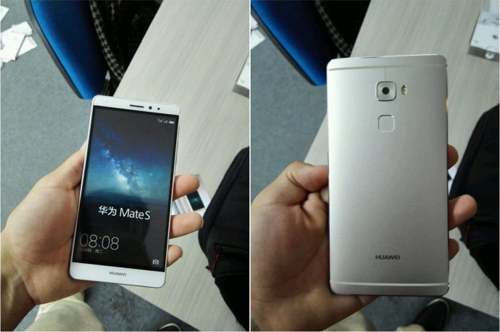 Gambar Menggoda Huawei MateS Dengan Layar Force Touch Beredar