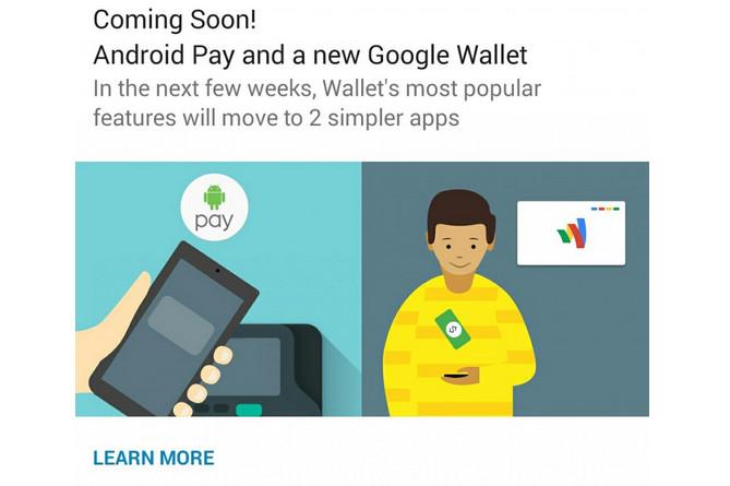 Google Luncurkan Android Pay Beberapa Minggu Lagi