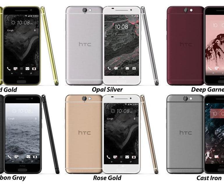 HTC One A9 Bakal tersedia Dalam 6 Pilihan Warna