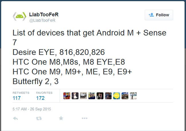 Ini Daftar Smartphone HTC yang Akan Diperbarui ke Android 6.0