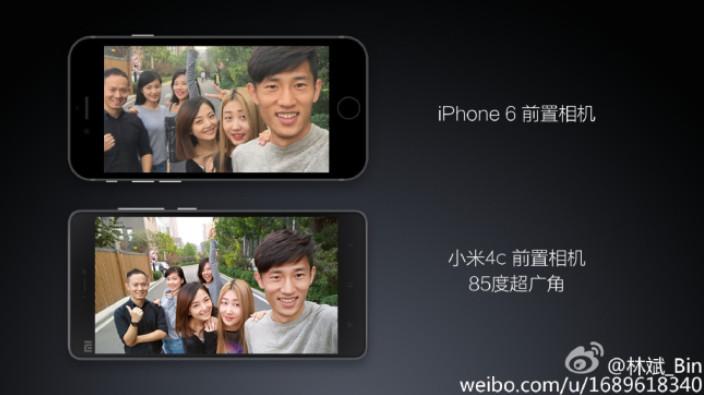 Lin Bin Bandingkan Kamera Selfie Xiaomi Mi 4c dan iPhone 6