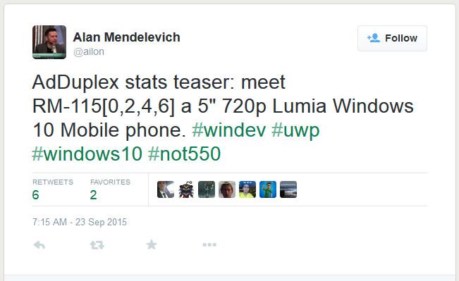 Microsoft Lumia 750 Muncul di Data Adduplex