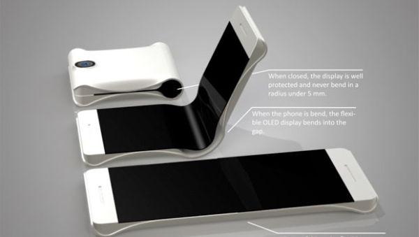 """Ponsel Tekuk Pertama Samsung Dari """"Project Valley"""" Akan Tiba Januari 2016?"""