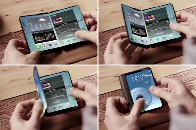 Ponsel Tekuk Pertama Samsung Dari Project Valley Akan Tiba Januari 2016 2