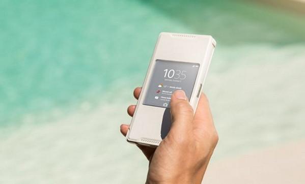 Seri Sony Xperia Z5 Punya Case 'Style Cover Window'