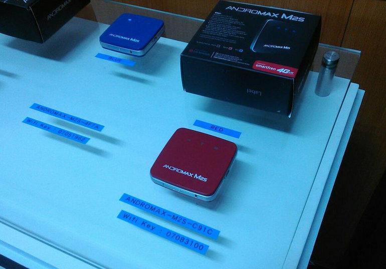 Smartfren Luncurkan Mifi 4G LTE-A Andromax M2S