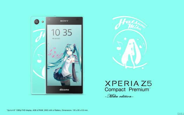 Sony Hadirkan Xperia Z5 Edisi Hatsune Miku Eksklusif di Jepang?