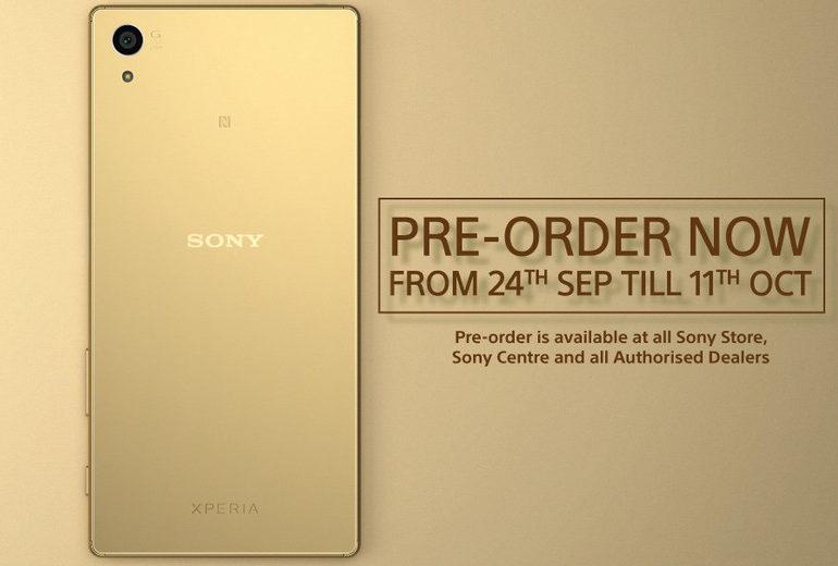 Sony Xperia Z5 Mulai Tersedia Pre-Order di Singapura dan Hong Kong