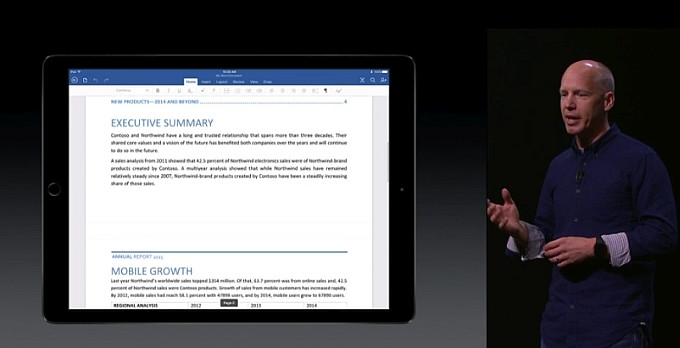 Sunting Dokumen Word, Excel dan Powerpoint di iPad Pro Perlu Berlangganan Office 365