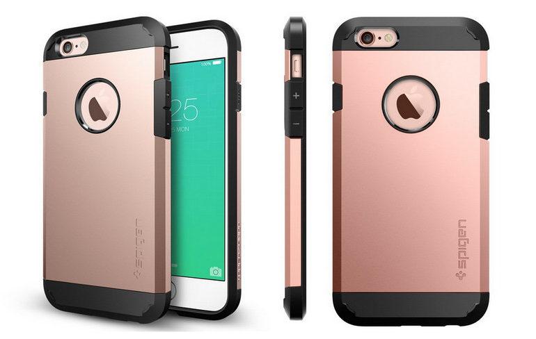 iPhone 6s & 6s Plus Mengintip Dibalik Case Spigen