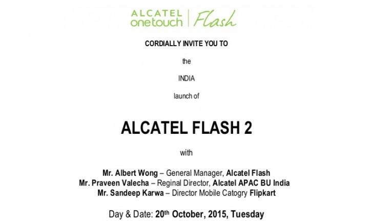 Alcatel Flash 2 Segera Sambangi India
