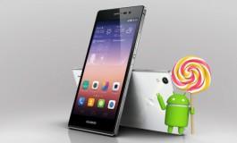"""Android Lollipop """"Tersaji"""" Untuk Huawei Ascend P7"""