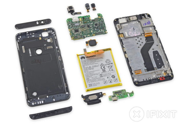 Bedah Huawei Nexus 6P Perlihatkan Sulitnya Perbaikan Komponen