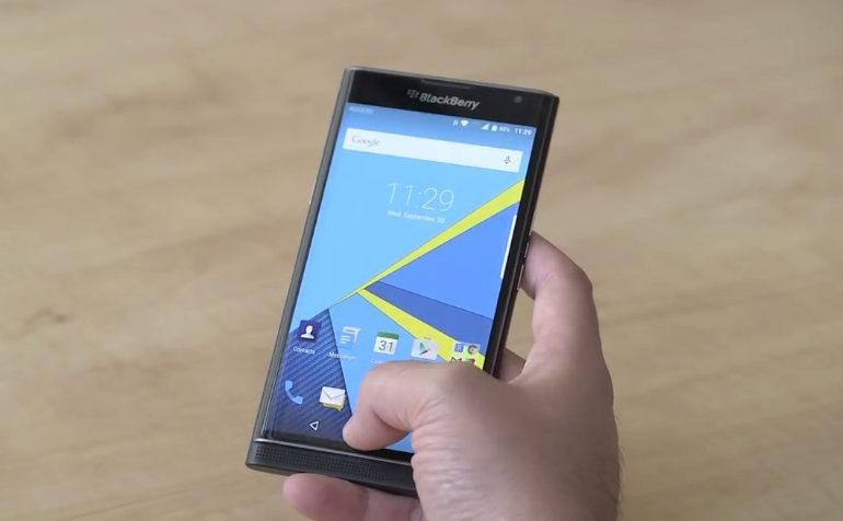 Harga Blackberry Priv di Kanada dipangkas