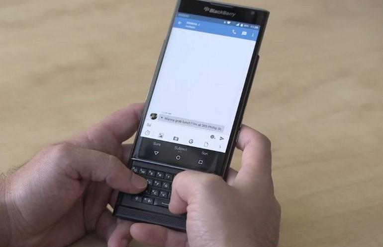 Versi Beta Marshmallow Untuk Blackberry Priv Diluncurkan Minggu Depan