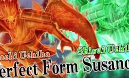 Duo Susanoo Bertarung di Naruto Shippuden: Ultimate Ninja Storm 4