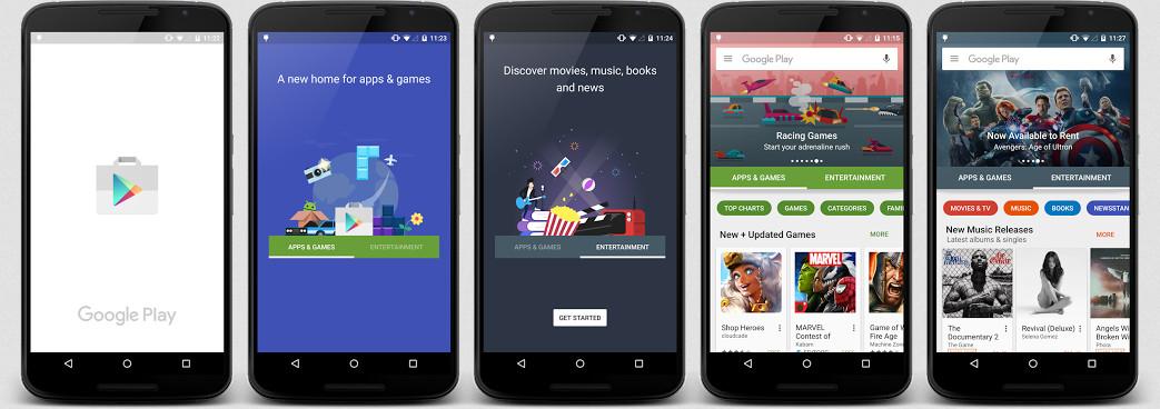 Google Play Store Akan Direnovasi 1