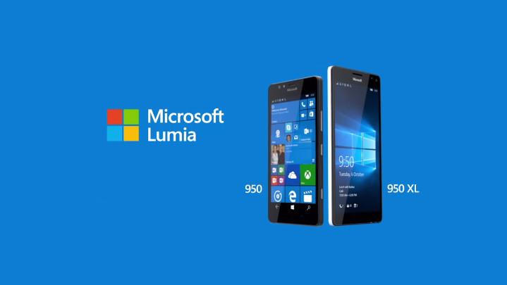 Microsoft Lumia 950 & 950 XL Sambangi India