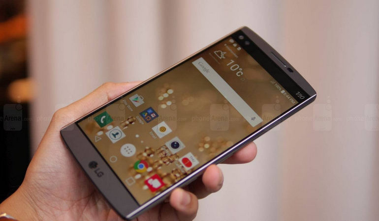LG V10 Mulai Debut Internasionalnya