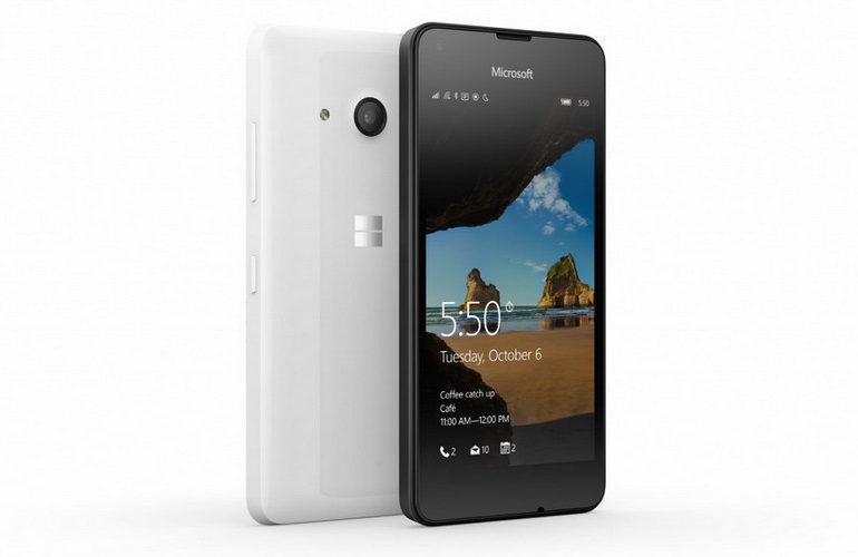Microsoft Resmi Pasarkan Lumia 550 di India