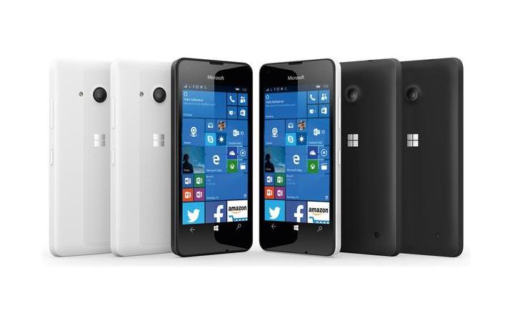 Microsoft Lumia 550 Perlihatkan Wujudnya