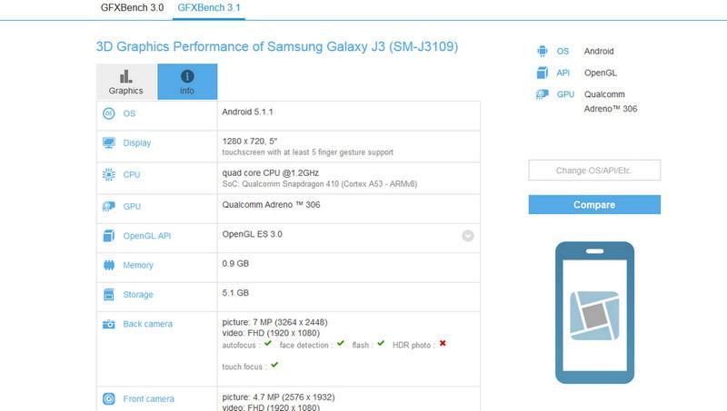 Samsung Galaxy J3 Mulai Menampakkan Diri 2
