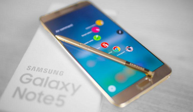 Update Android 6.0 Marshmallow Untuk Samsung Galaxy Note5 Bergulir Prematur