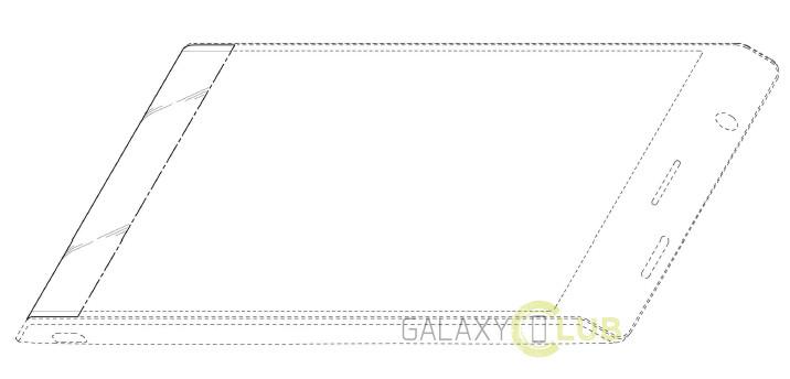 Samsung Patenkan Ponsel Trapesium Dengan Layar Fleksibel Miring di Tepi Bawah 1