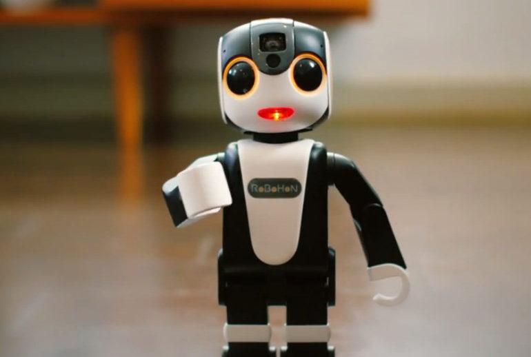 Sharp Luncurkan RoBoHon, Smartphone Berwujud Humanoid yang Bisa Apa Saja