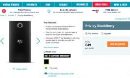 Spesifikasi Lengkap Blackberry Priv Diungkap Oleh Pengecer Inggris