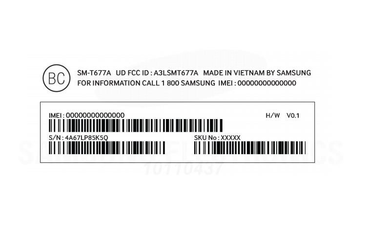 Tablet Samsung Galaxy View Disertifikasi FCC 2