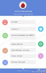 AnTuTu Ungkap Spesifikasi Samsung Galaxy A9