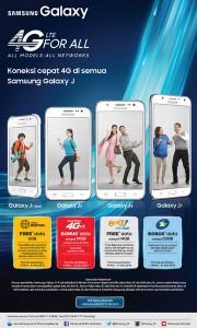 Beli Galaxy J2, J5, J7 dan J1 Ace, Samsung Tawarkan Promo Paket Data 2