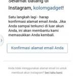 Buat akun instagram