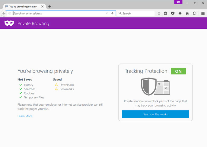 Private Browsing di Mozilla Firefox Tawarkan Tracking Protection