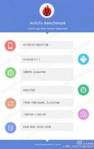 Samsung Galaxy A7 (2016) 'Diotaki' Exynos 7580
