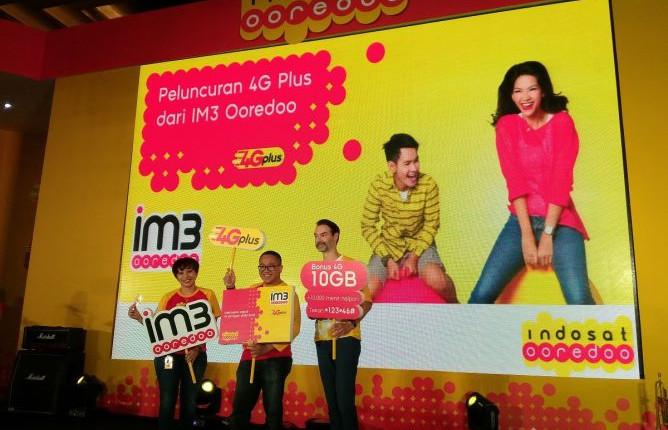 Diluncurkan, Layanan 4G LTE Indosat Ooredoo Dinamai 4GPlus